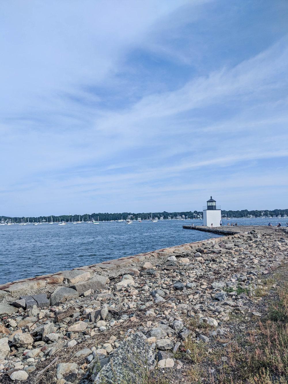 bri rinehart; photography; salem; derby wharf lighthouse