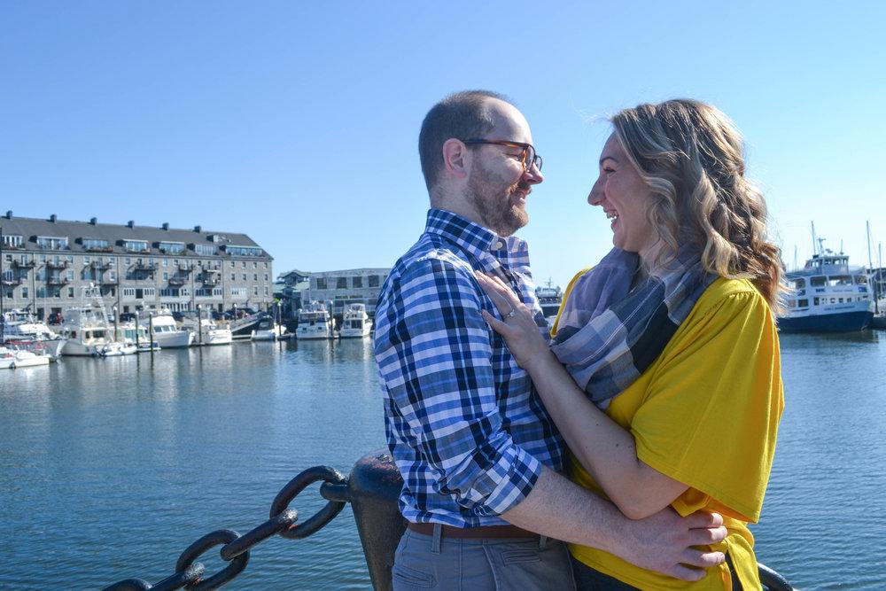 bri rinehart; photography; couple; engagement; boston