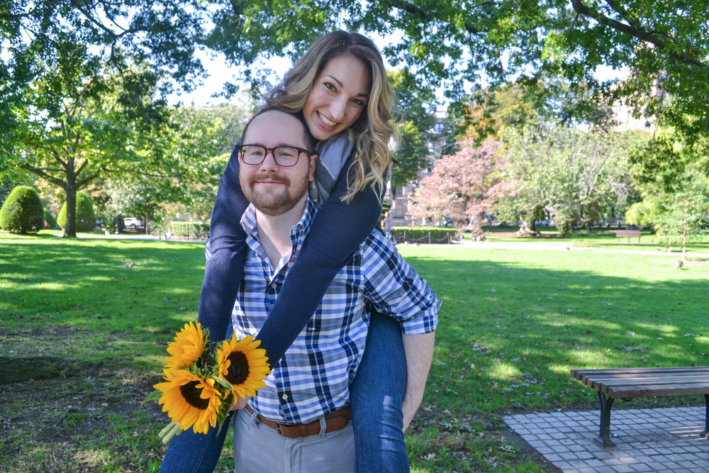 bri rinehart; photography; boston; couple; engagement