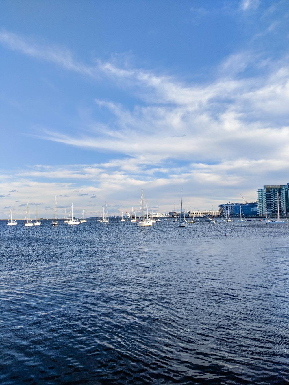 bri rinehart; photography; landscape; outdoors; boats; boston; harbor