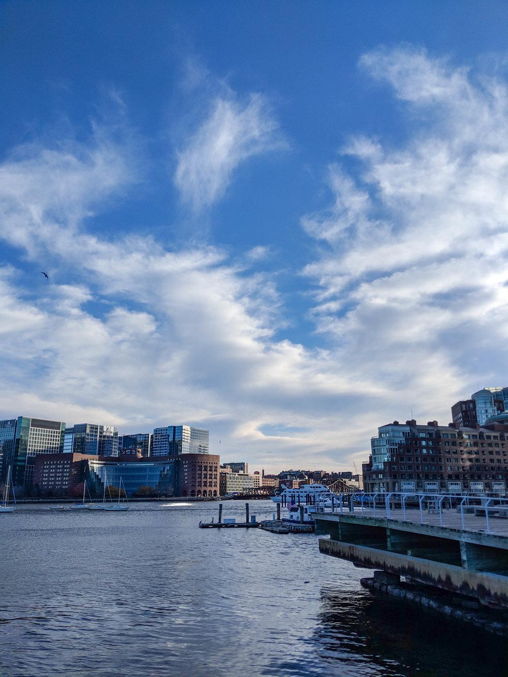 bri rinehart; photography; boson; harbor; wharf; boats; outside