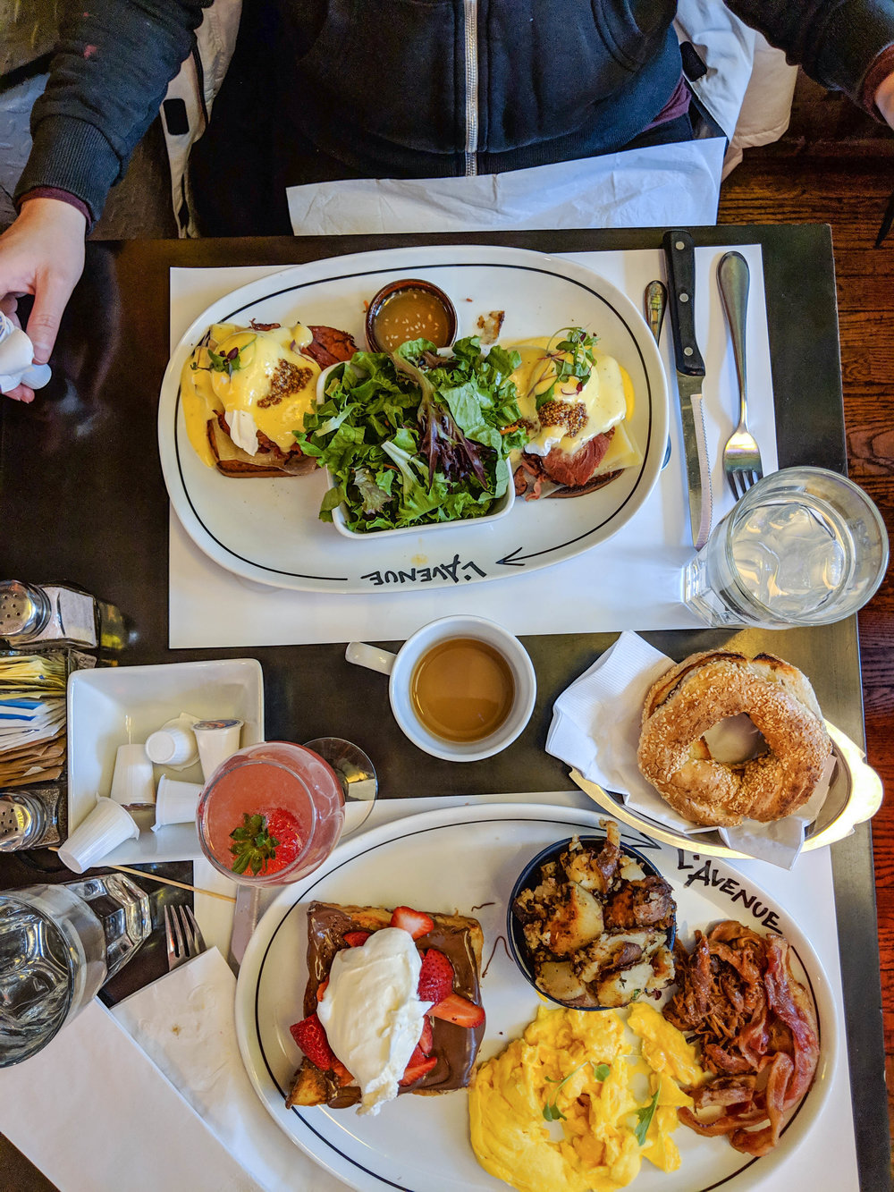 bri rinehart; montreal; restaurant l'avenue, foodie