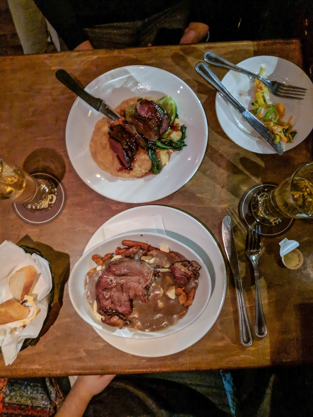 bri rinehart; montreal; nyk's; foodie