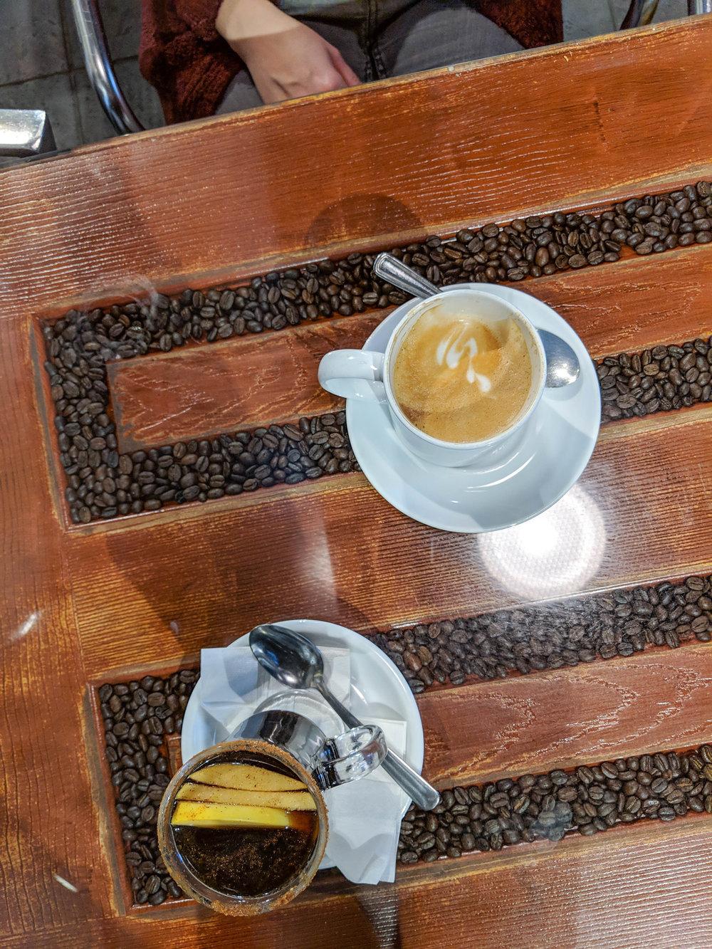 bri rinehart; montreal; cafe des arts; foodie