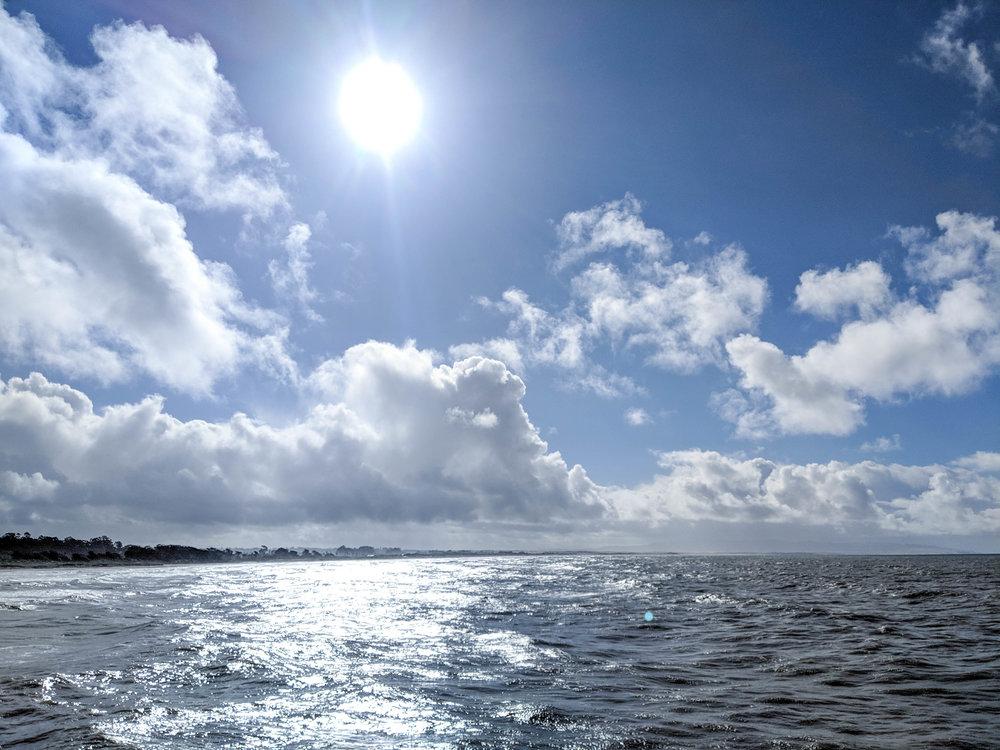 bri rinehart; photography; pismo beach; california; ocean; clouds