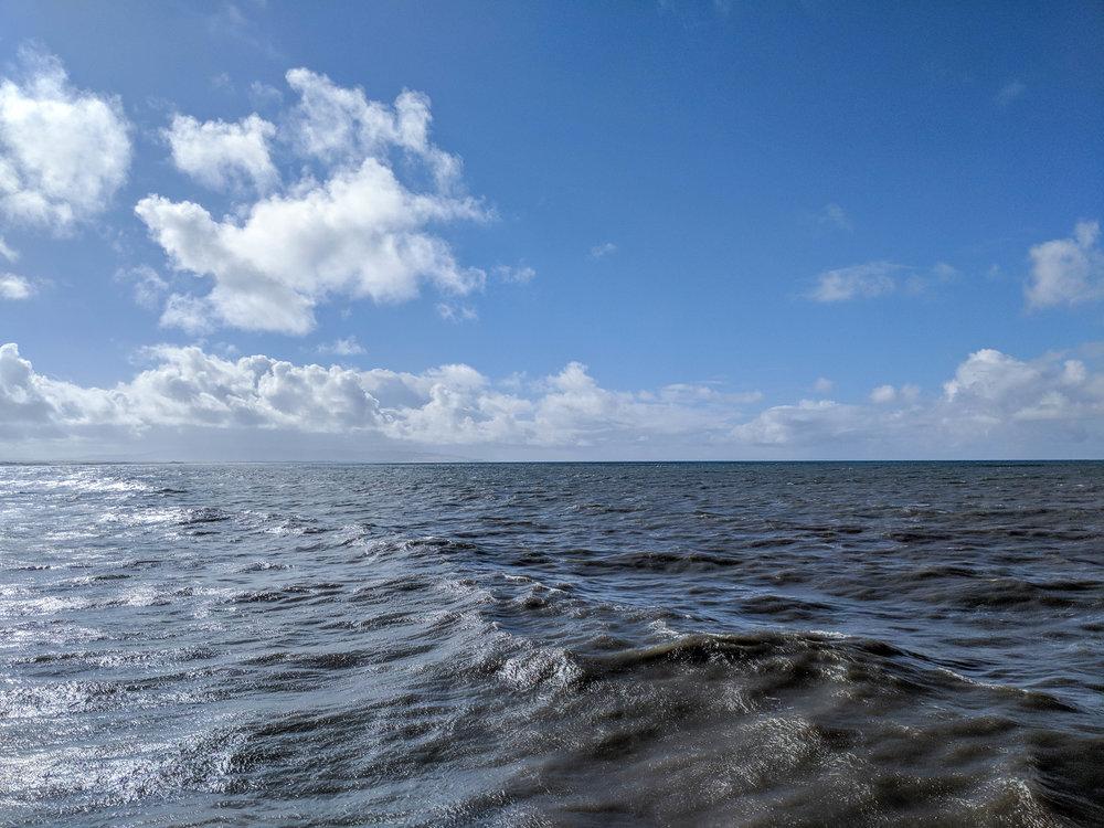 bri rinehart; photography; california; ocean; clouds; pismo beach