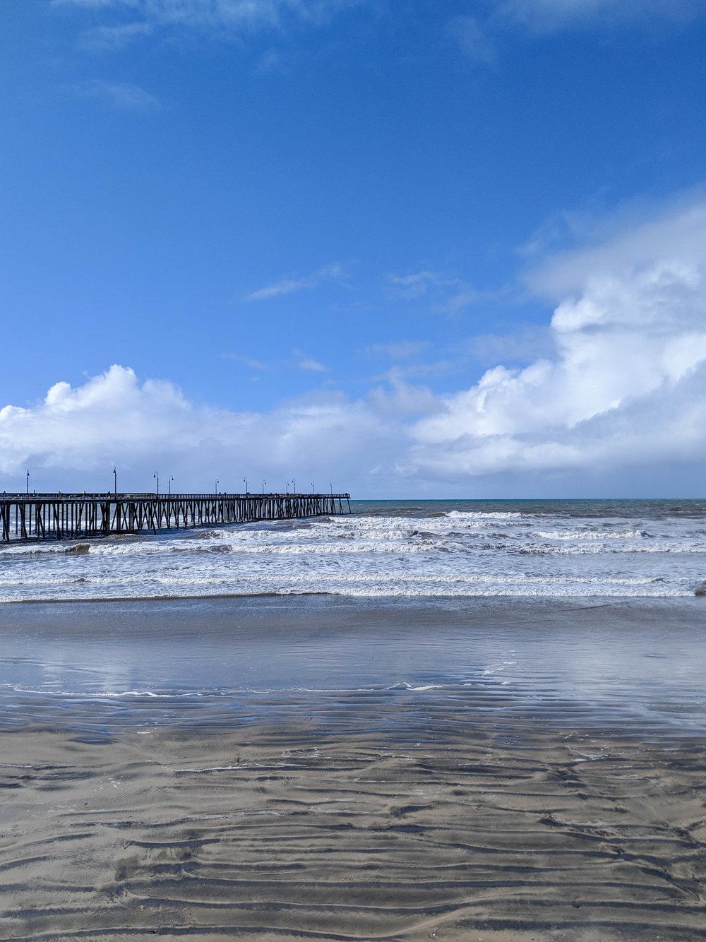bri rinehart; photography; pismo beach; california; ocean; pier