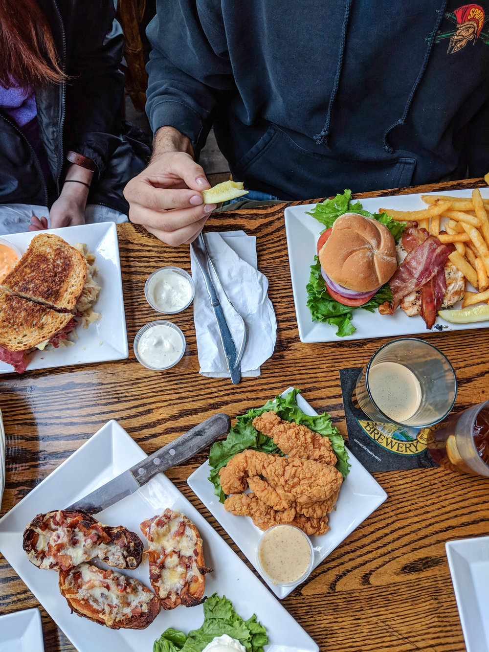 bri rinehart; brand photography; restaurant; food