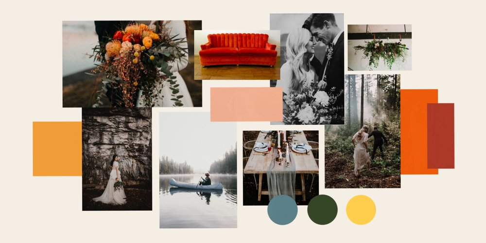 CALLING ALL COUPLES MADLY IN LOVE AND CONSIDERING ELOPING!! Here is your chance to have the elopement of your dreams! | Mood Board For Elopement Giveaway 2018 by Wildly Collective.