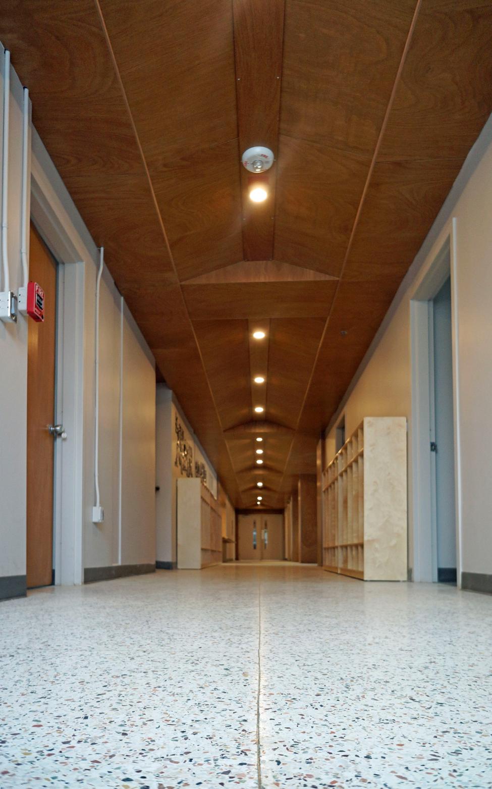 Hall of the JPII building