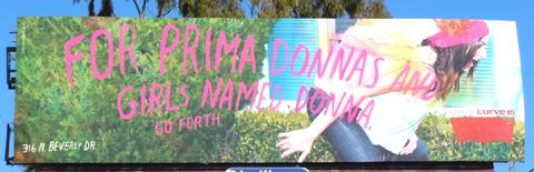 Levis donna Curve ID billboard