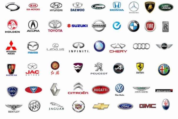 Lexicon — Why Do All Car Logos Look the Same?: How Visual ...