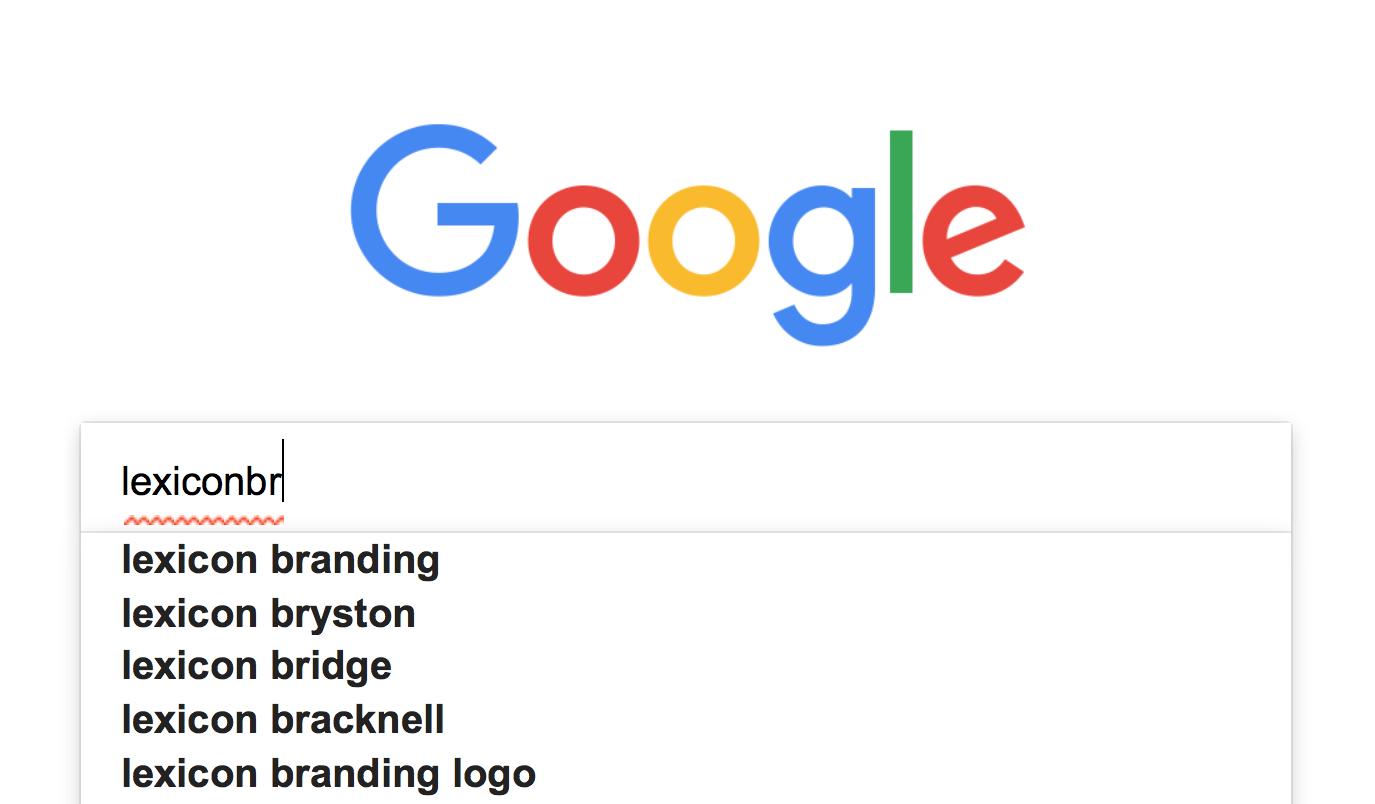 Lexicon Branding — Lexicon Branding Finds Searchability Is