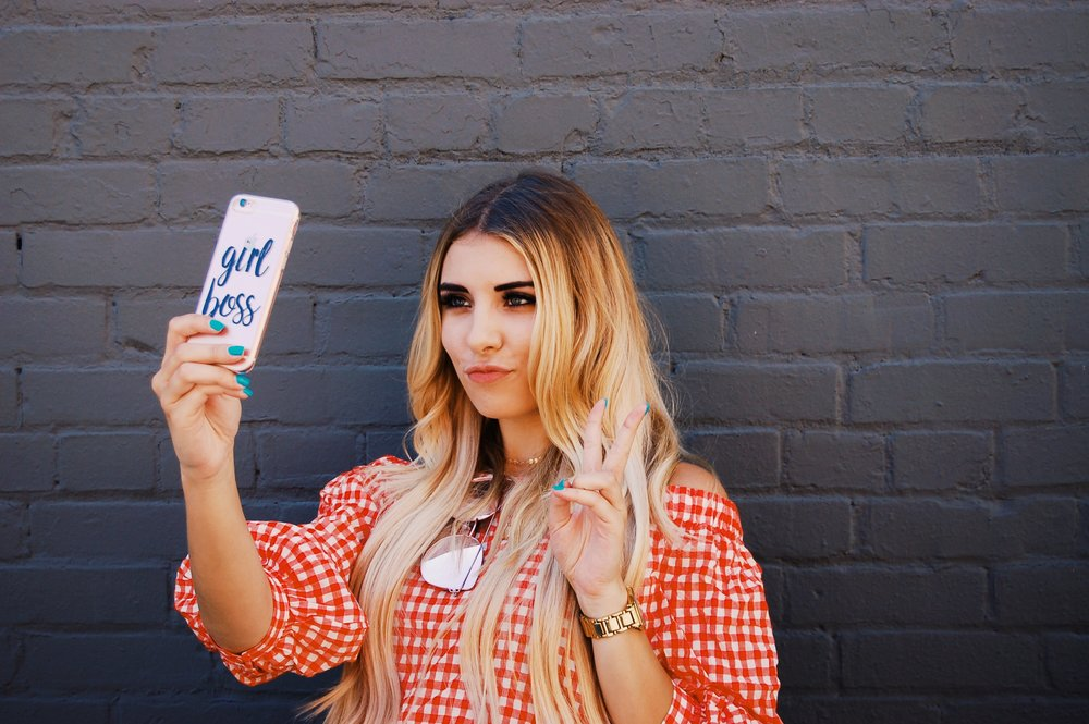 Girl Boss Phone Case/ /  Fifth and Ninth
