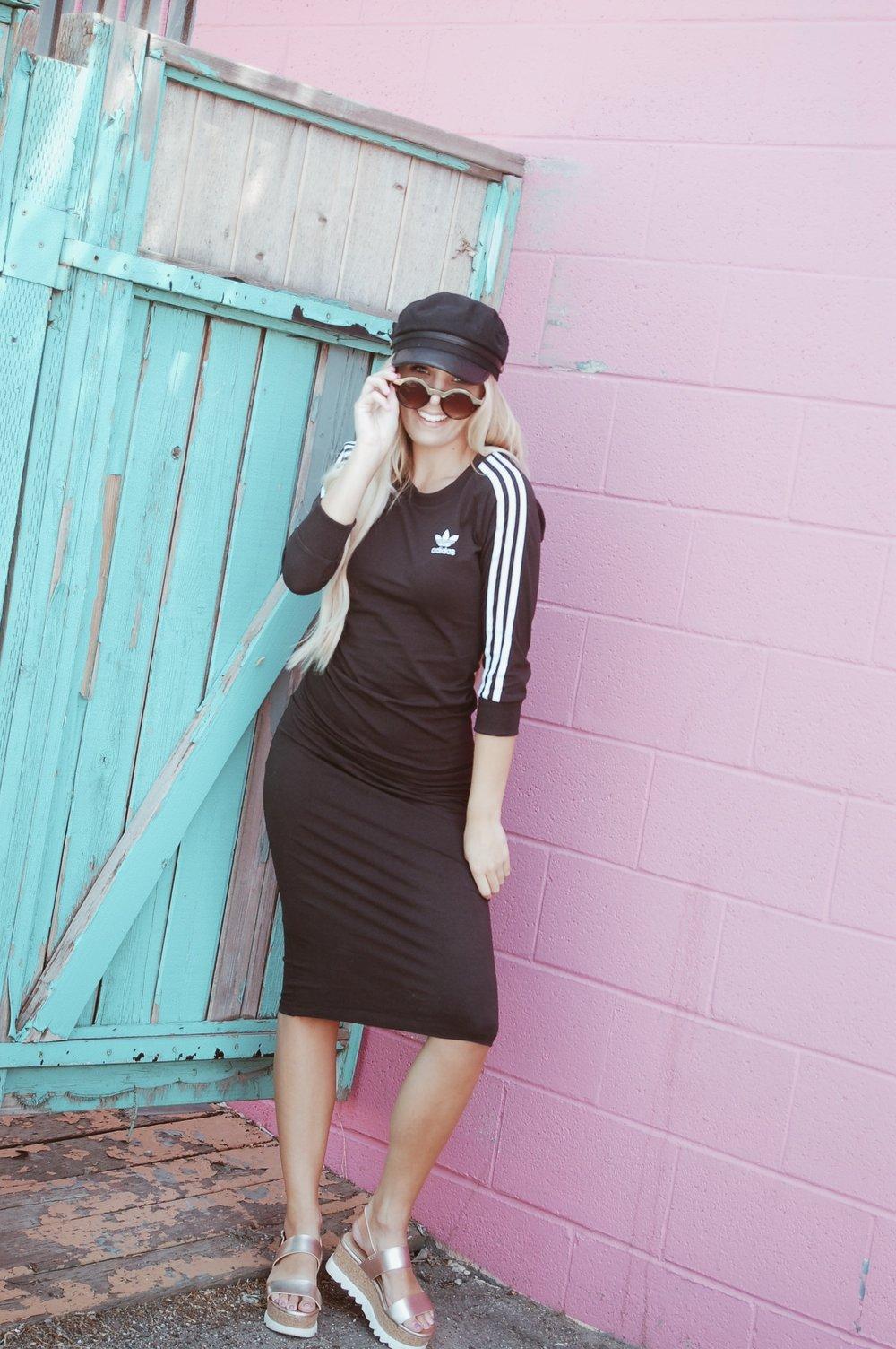 Adidas Originals 3-Stripes Dress//  Nordstrom