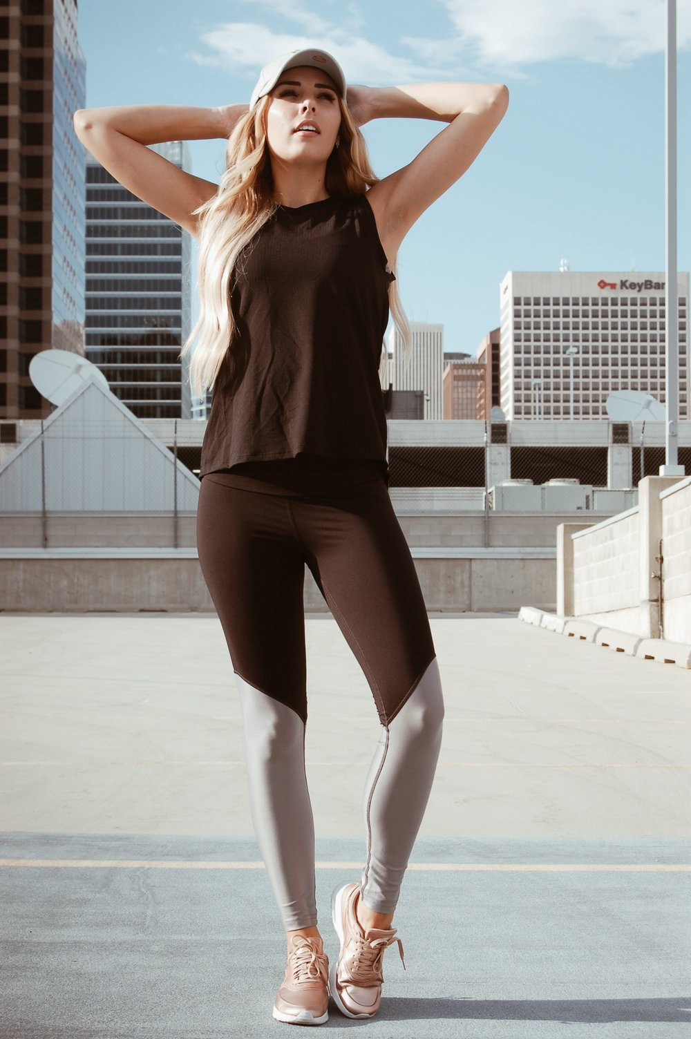 Rose Gold Nikes//  Nordstrom