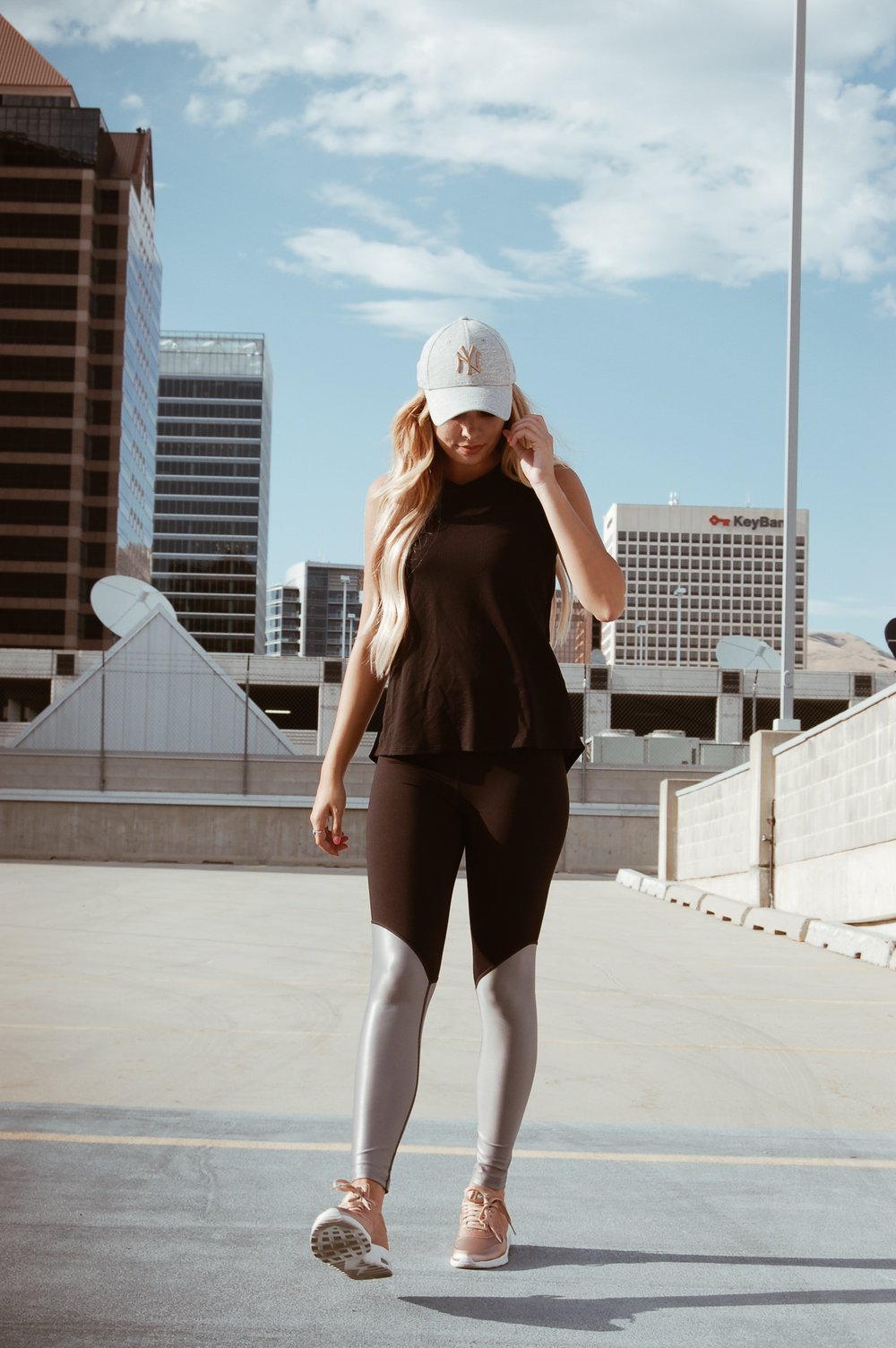 Breathe Tank Black//  Pheel   Special thanks to  Pheel  for sponsoring this post!  XO  Sydney Lauren