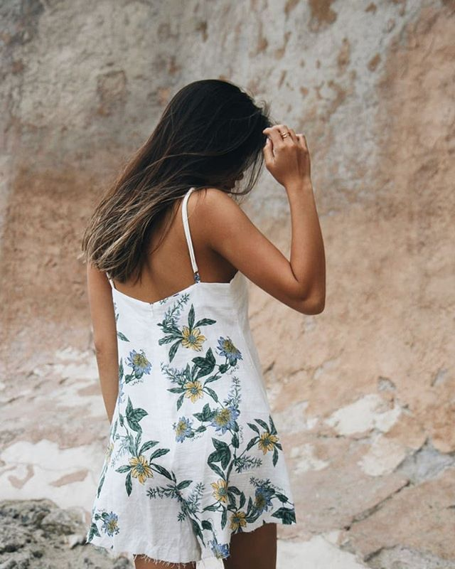 Fire walk with me. Shop the Luscious Lands Playsuit from @elison_rd #somedayslovers