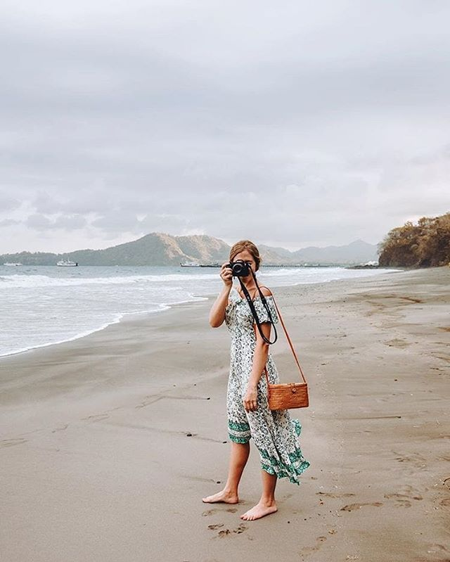 Snapped. @livelikeitsthewknd wears theCoastal Mountains Dress, in stores and online #somedayslovers