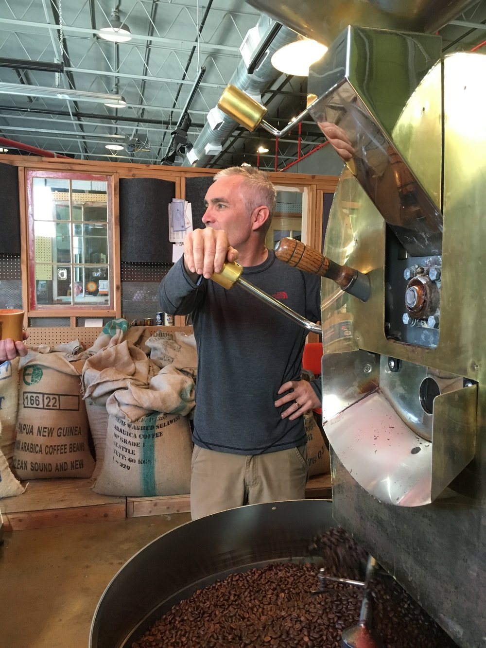 Kevin Myers, Flying M owner and original roaster