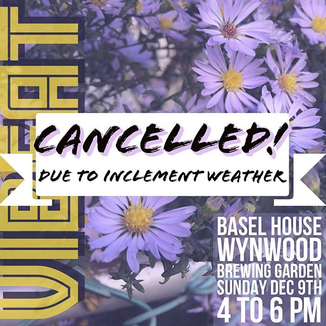 💧😭⛈😢☔️ We are sorry to say today's performance @baselhouse has been cancelled due to inclement weather. Thank you to everyone @swarm_eventagency and Basel House for having us out! Keep an eye on @v_i_b_e_a_t for future show dates! #jazz #jazzmusic #livemusic #southflorida #miami #artbasel2018 #wynwood #baselhouse #jazzfusion #musician #music #artbasel #artfestival #festival #art #mural