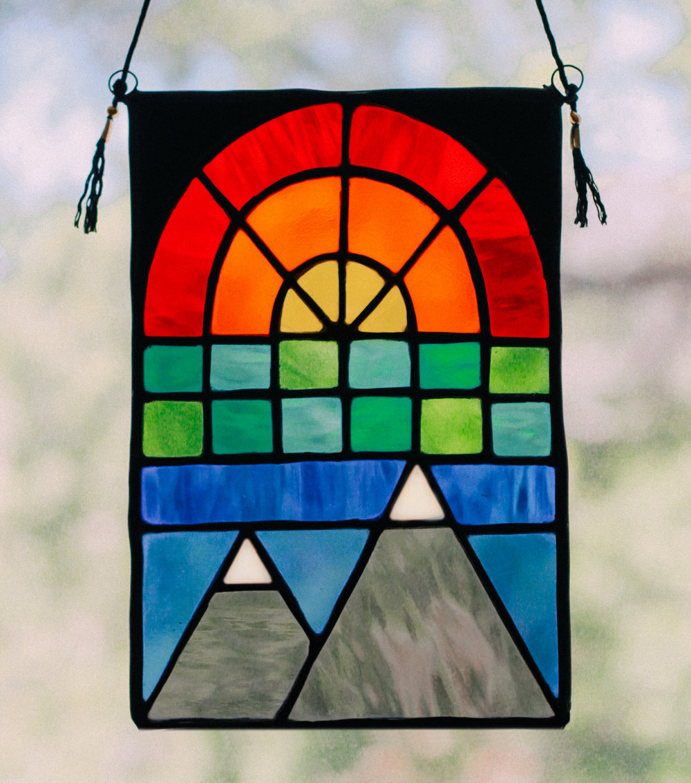 Nora and Tyler's Baby Get a Stained Glass Window, 2018