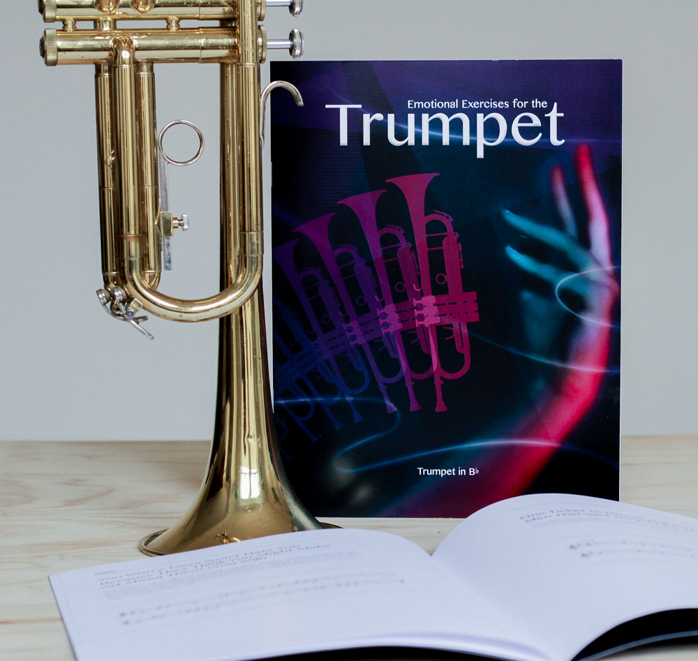 Emotional Exercises fore the Trumpet  is a music exercise book fill with interpersonal music exercises and mantras.