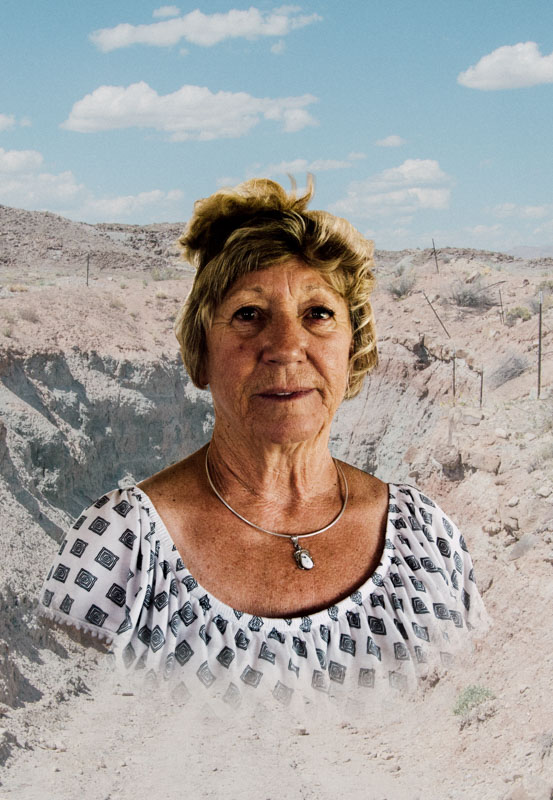 Romance of Mining Portraits , pairing images of residents with regional landscapes altered by resource extraction.
