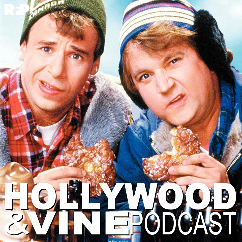 HOLLYWOOD & VINE    EPISODE 27 |  Strange Brew     Tim  &  Patrick  are joined this week by the  Stranger Brews  boys,  Dallas Wood  and  Josh Nelson , on a beer filled trip down an old nostalgic lane up in the Great White North, eh,  as they review  Strange Brew  (1983).