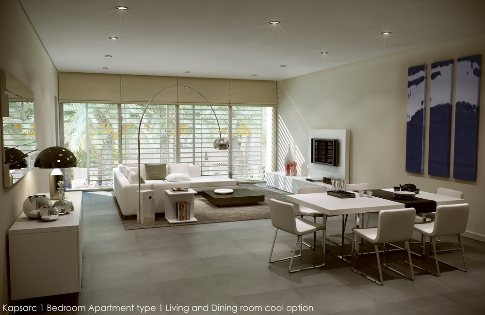 Kapsarc 1 Bedroom Apartment type 1 Living and Dining room co.jpg