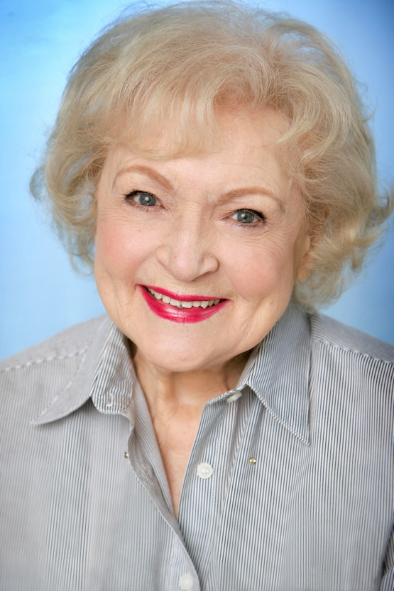 Betty White headshot by Shandon Photography