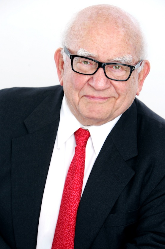 Ed Asner headshot by Shandon Photography