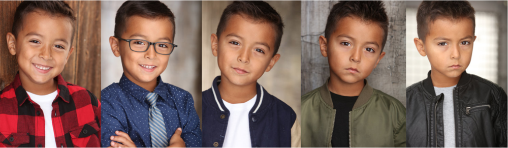 Examples of Character-Driven headshots, which make it easy for casting directors to imagine actors as the characters they're looking to cast.