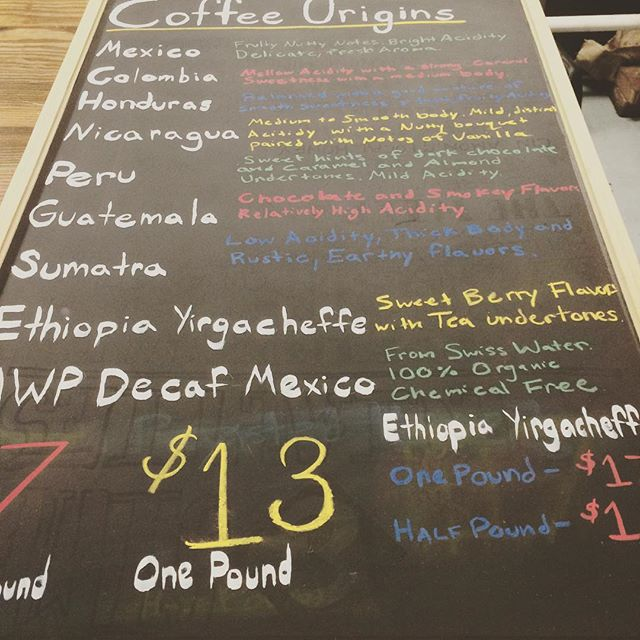 Come learn more about the Coffee you love!