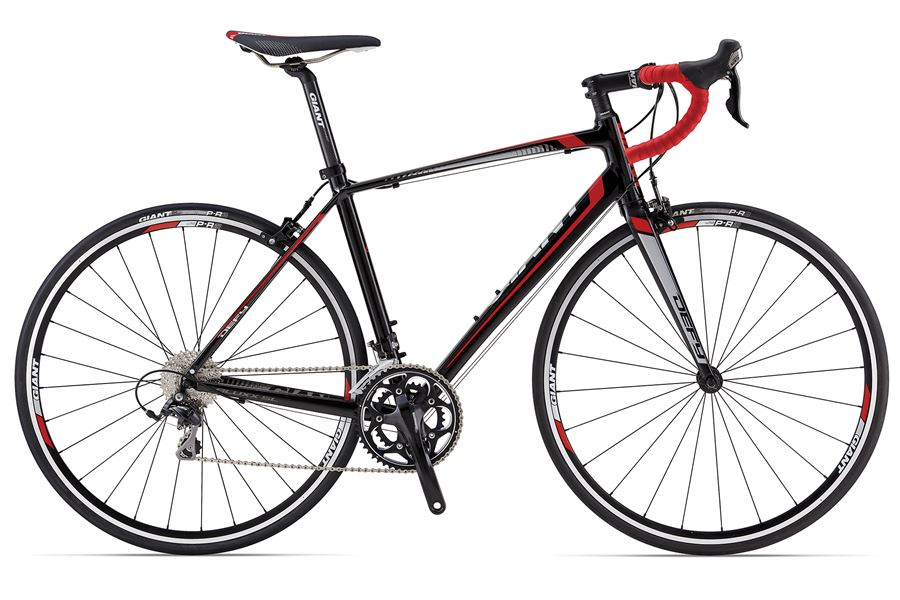 GiantDefy 1 - Sale Price $1,149.99 (Regular Price $1,300.00)Aluminum frame, carbon fork, Shimano 105 2 x 10 speed shifting, carbon seat post.Available Sizes: M/L (~57cm)