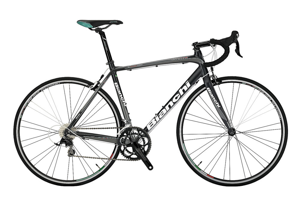 Bianchi Impulso 105 - Sale Price $1,299.99 (Regular Price $1,499.99)Aluminum frame, carbon fork, Shimano 105 2 x 10 speed shifting.Available Sizes: 53cm, 59cm, 61cm
