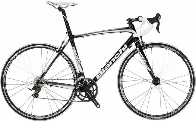 Bianchi Impulso Ultegra - Sale Price $1,399.99 (Regular Price $1,599.99)Aluminum frame, carbon fork, Shimano Ultegra 2 x 10 speed shifting.Available Sizes: 53cm