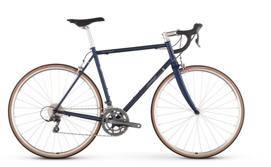 Raleigh Grand Sport - Sale Price $799.99 (Regular Price $999.99)Steel frame, aluminum fork, Shimano Claris 2 x 8 speed shifting, 700 x 28x tires.Available Sizes: 52cm, 54cm