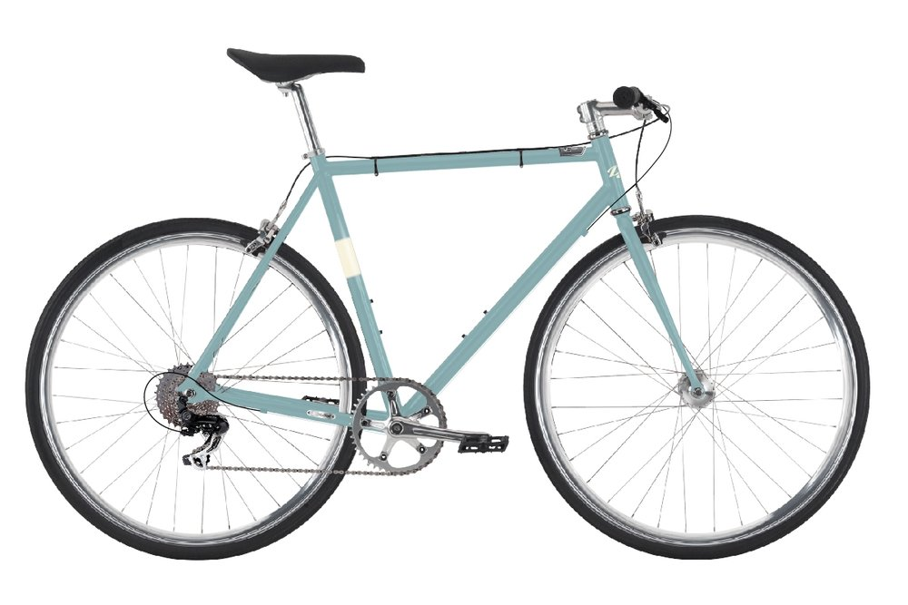 Del Sol Projekt 8 - Sale Price $309.99 (Regular Price $379.99)Steel frame and fork, Shimano 8 speed drivetrain, Tektro R317 brakes, durable 32 hole alloy wheels with doublewall rims.Sizes Available: Large
