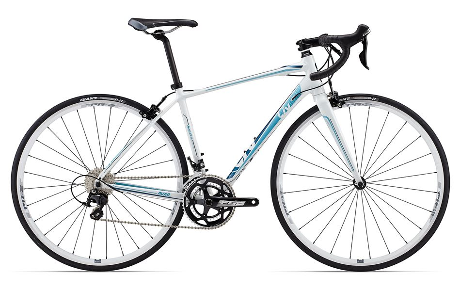 Liv Avail 1 - Sale Price $1,299.99 (Regular Price $1,430.00)ALUXX-SL aluminum frame, carbon fork, Shimano 105 2 x 11 speed shifting, Tektro R450 caliper brakes, includes cross-top brake levers.Sizes Available: X-Small, Small