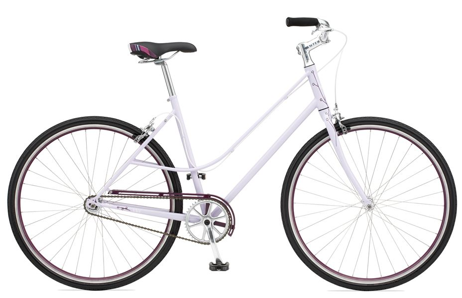 Giant Via 1 W - Sale Price $339.99 (Regular Price $410.00)4130 butted chromoly frame and fork, single speed model, caliper style brakes.Available Sizes: X-Small, Small