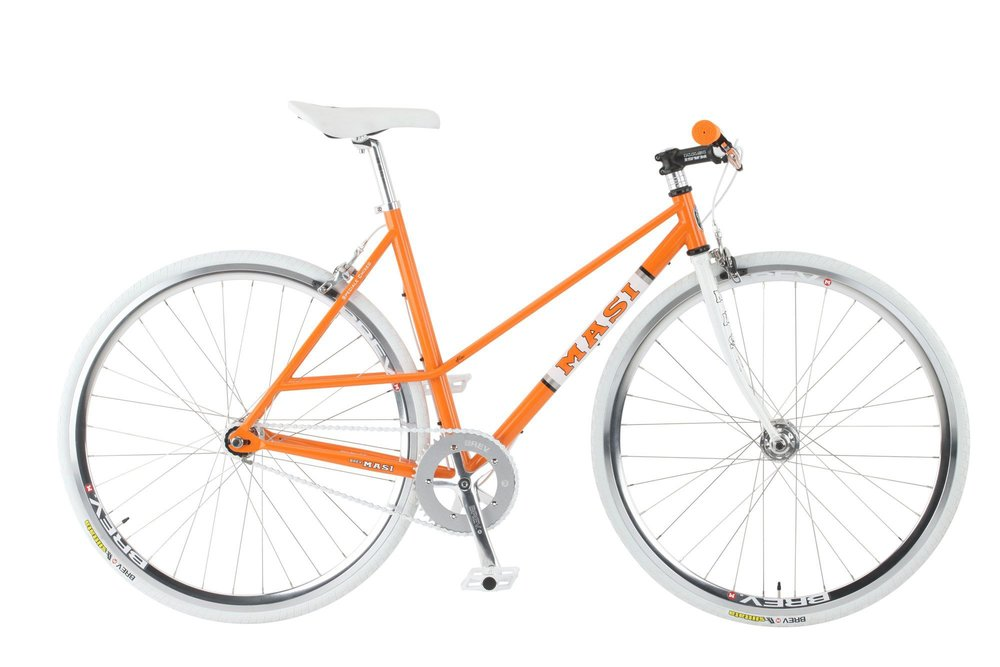 Masi Speciale Chixed - Sale Price $499.99 (Regular Price $710.00)Double butted chromoly frame, lugged chromoly fork, Brev M crankset with 46T chainring, alloy riser handlebar, flip/flop rear hub includes 16T fixed cog and freewheel.Available Sizes: 49cm