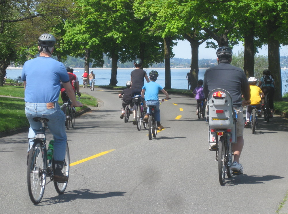 Bicycle Sundays continue today in the late Spring and Summer. Photo credit: City of Seattle; Bicycle Sundays