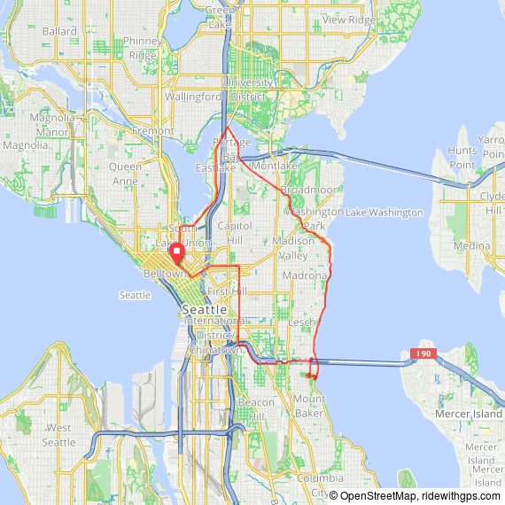 50th Anniversary Ride Route Steady Pace.png