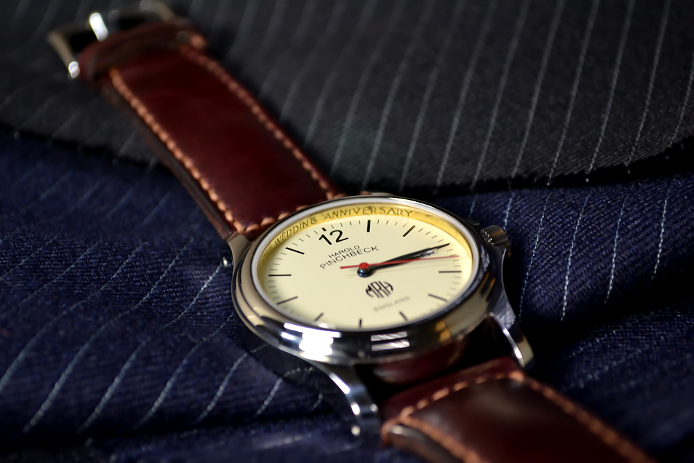 A bespoke Harold Pinchbeck Christopher watch.
