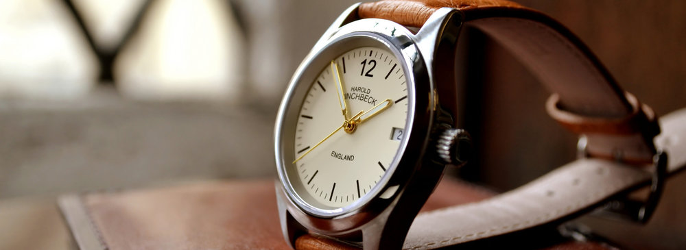 THE PREMIER RANGE    Watches hand-built in our traditional English workshop, with loving attention to detail.