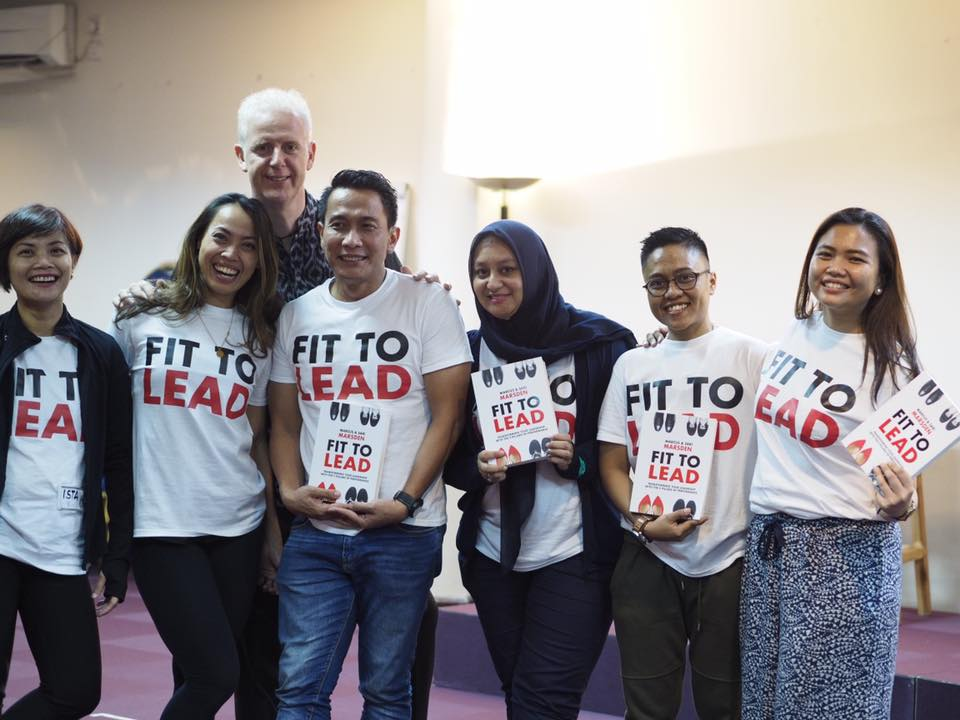 FIT TO LEAD GOES TO JAKARTA! - JAKARTA, SEPTEMBER 15, 2017Hello JAKARTA! So excited to be here!