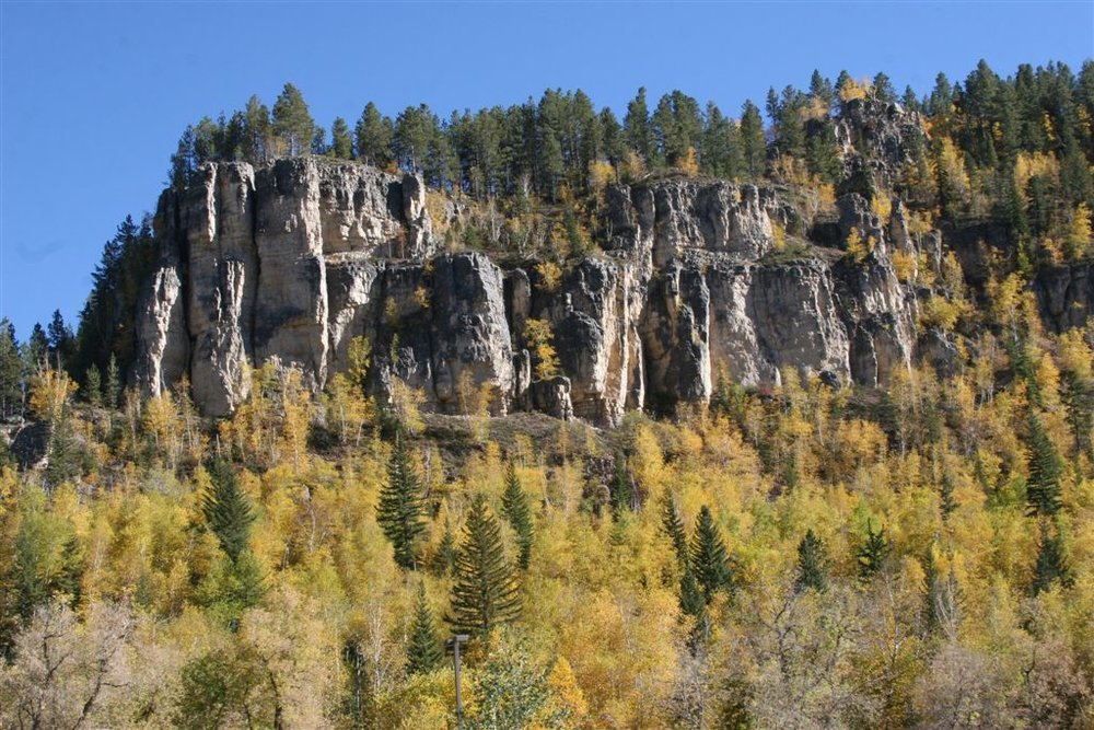 Autumn Colors in the Black Hills -