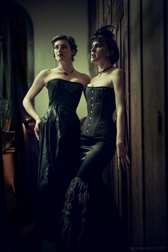 Dollymop for Dark Garden Couture  | Models: Anneka & Sarafina | Photo © Joel Aron
