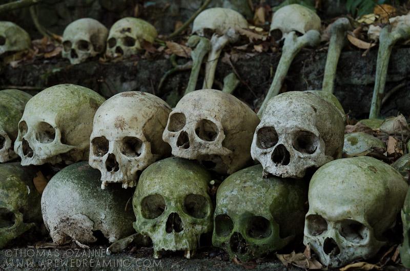 Skulls, Bali, Burial, Graveyard, Lake Batur, Trunyan,